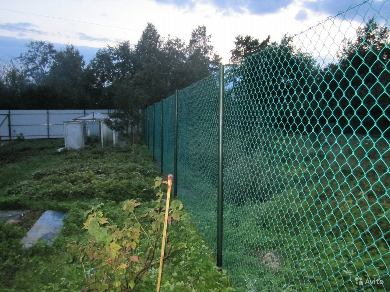 забор из пластиковой сетки фото пост, дизайн